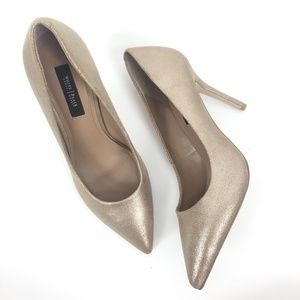 WHBM Size 9M Olivia Pointed Toe Pumps